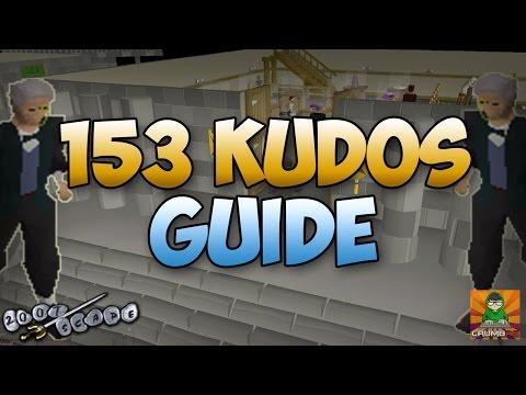 Runescape 2007 How To Get 153 Kudos