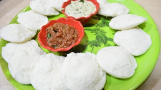 Idli | Coconut Chutney |Onion Chutney |  homemade Idli | Preparing Idli batter | Breakfast menu 4