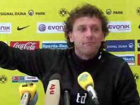 Thomas Doll  Wutausbruch bei Pressekonferenz