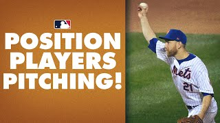 ALL Position Players Pitching Moments from 2020!