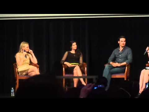 Q&A with Jennifer Morrison, Colin O'donoghue & Meghan Ory - Fairy Tales III in Paris - 20.06.15