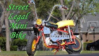 How to Make a Mini Bike Street Legal: Manco Thunderbird Build