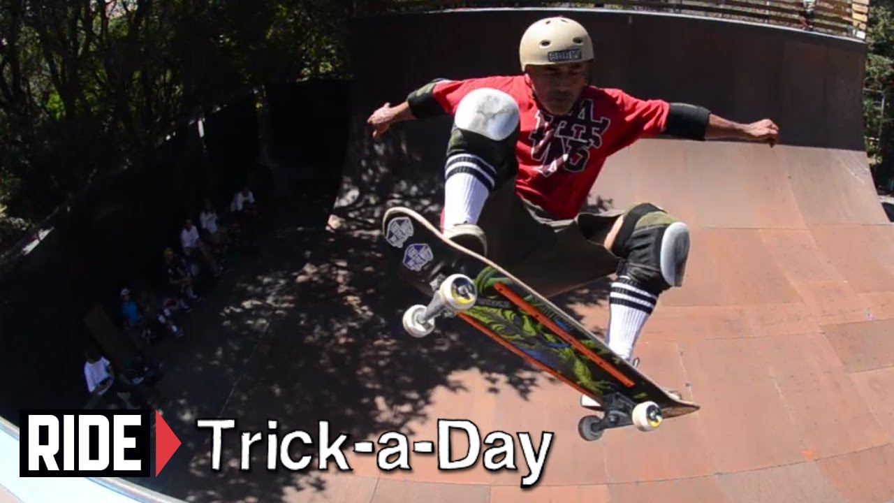 6f51f17d045 How-To Skateboarding  Half Cab With Steve Caballero - YouTube