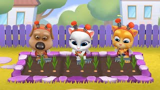 MY TALKING TOM FRIENDS 🐱 ANDROID GAMEPLAY #70 -TALKING TOM AND FRIENDS BY OUTFIT