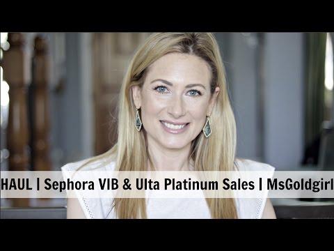 HAUL | Sephora & Ulta Sales | MsGoldgirl