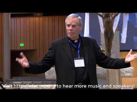 Monsignor Jack Harris Spoke at the 2018 Spring North Texas Catholic Men's Conference