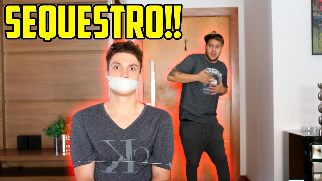 Trollei meu amigo fingindo um sequestro na casa dele olha a rea o dele youtube - Sequestro prima casa ...