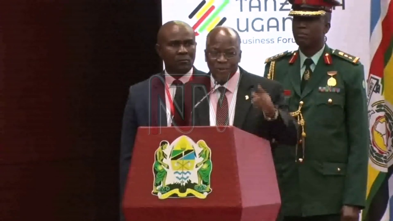 Magufuli urges Museveni to sacrifice Tullow taxes for Total EP Pipeline