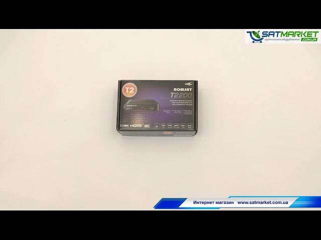 Видео обзор Romsat T2200