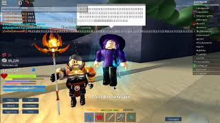 Getting 2nd magic as water! - ROBLOX Arcane Adventures