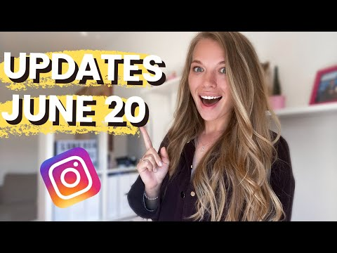 Instagram Updates June 2020 (DM Sticker, IGTV Monetisation, Chat Room)