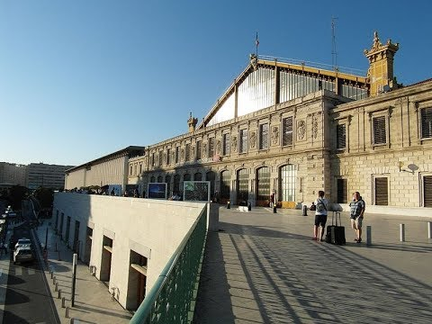 Places to see in ( Marseille - France ) Gare de Marseille Saint Charles