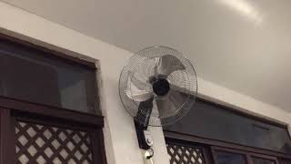 """48"""" Standard industrial/commercial ceiling fans, Kolin air conditioner, and Dowell wall fans"""