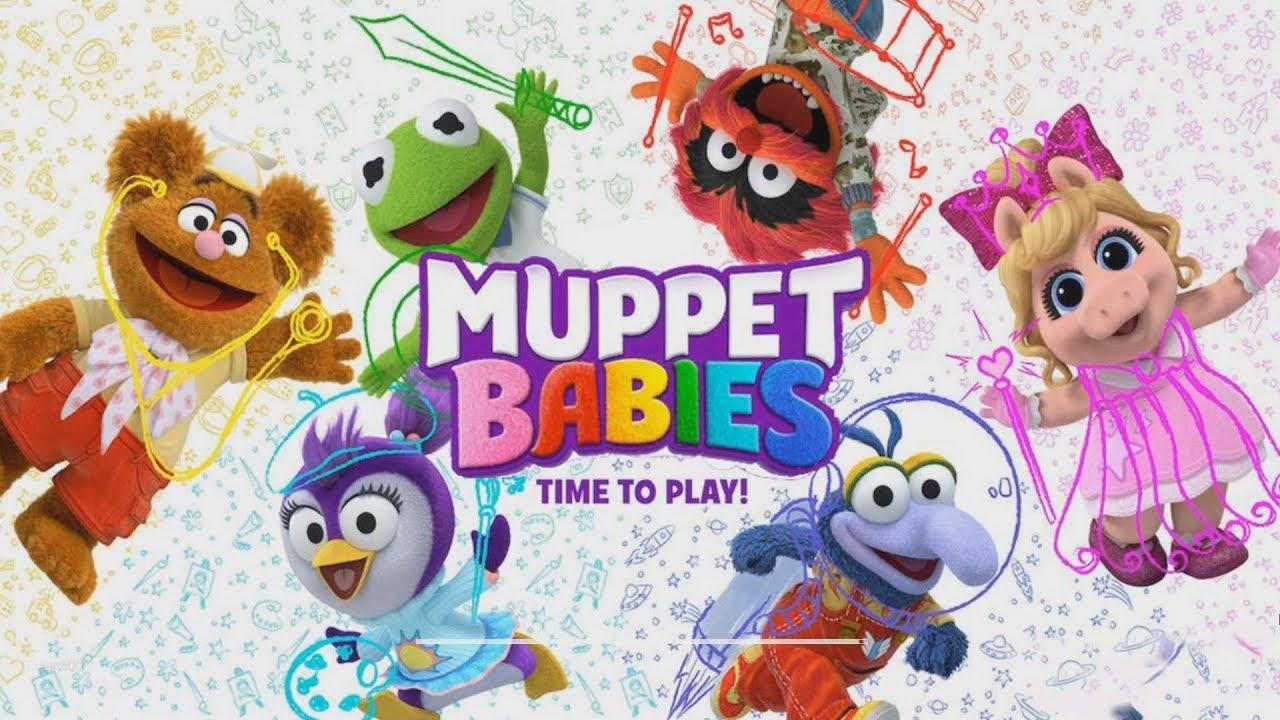 Muppet Babies Super Carrera KERMIT y AMIGOS - Muppet Babies Racing ...