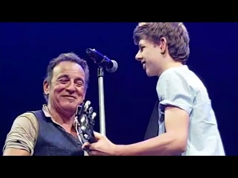 Middle School Student Who Cut School To See Springsteen Joins Him On Stage