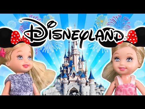 Barbie - The Twins Disneyland Adventure | Ep.104