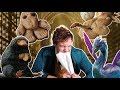 Niffler Raisin Bread + Occamy Pretzel (Fantastic Beasts - Savory Stories Ep. 20)