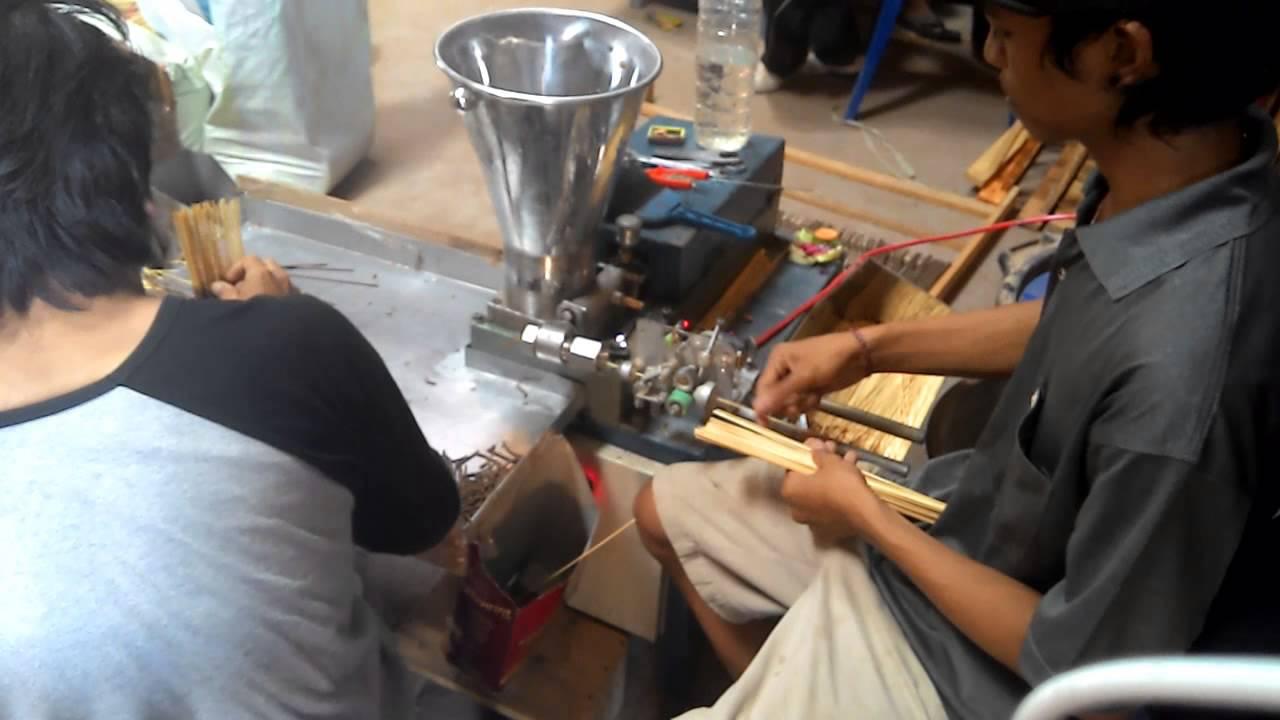 Full Automatic Incense Stick Making Machine May Lam