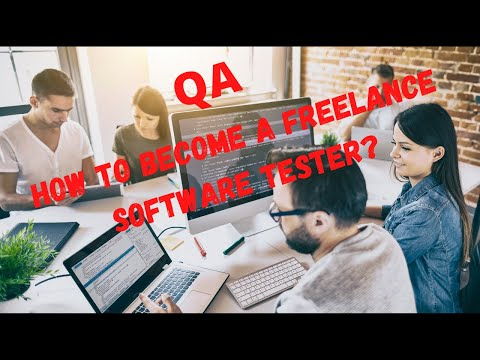 How to become freelance Software Tester- 01