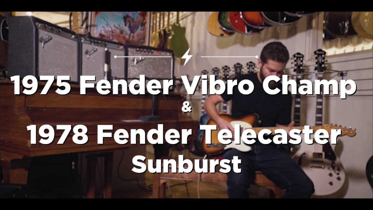 Fender Telecaster Sunburst 1978 (s084)