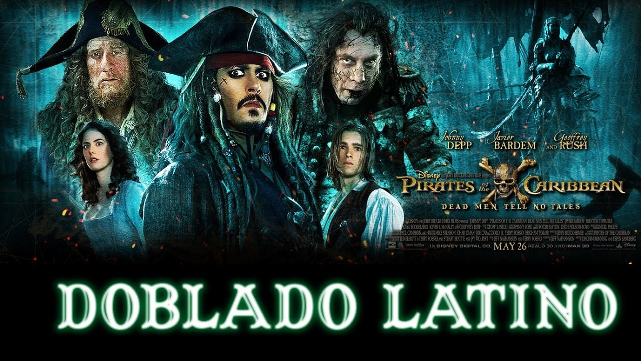 Piratas Del Caribe 5 La Venganza De Salazar Trailer Doblado Español Latino Cine Youtube