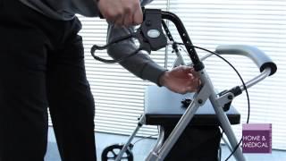 Z-Tec Lite Compact Rollator Walking Aid