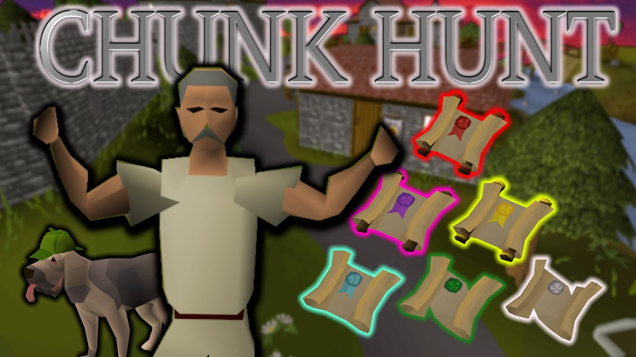 CLUE SCROLLS Will Decide the Fate of my CHUNK LOCKED Account... (Chunk Hunt ep1)