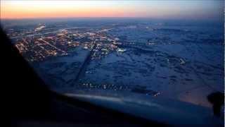 UTair569,Рассвет над Толмачёво.Boeing 737-800