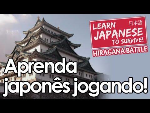 Aprenda japonês jogando! | Learn Japanese To Survive! Hiragana Battle (PT-BR)