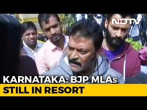 "Karnataka BJP Lawmakers Still At Resort, ""Missing"" Congress MLA Surfaces"