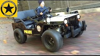 Children POLICE Motor JEEP (Long Play) Performed by Jack (3)