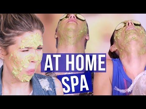 DIY Spa Day FAIL?! (Beauty Break)