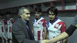 A Milli Takım Teknik Direktörü Şenol Güneş'ten genç futbolculara tavsiyeler - İZMİR