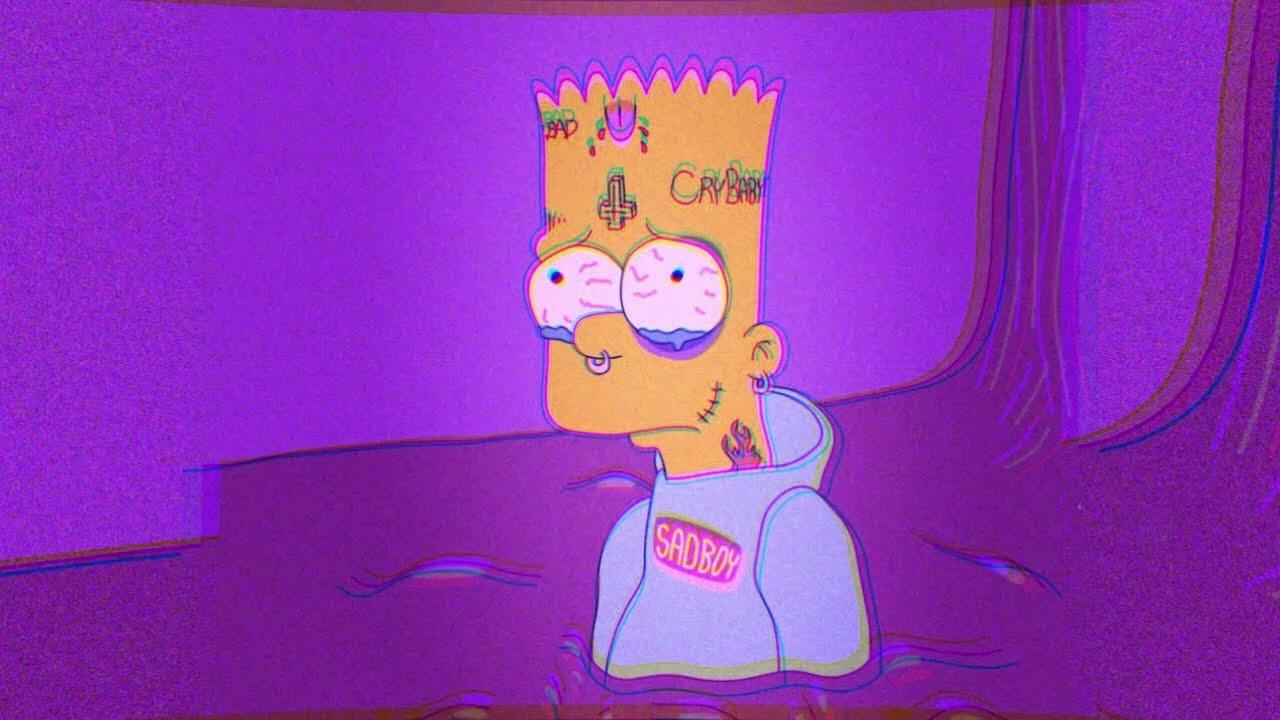 Simpsons Aesthetic Mood Wallpaper