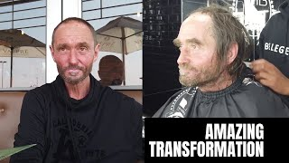 AMAZING TRANSFORMATION | Helping a Homeless Man To Find a Job!