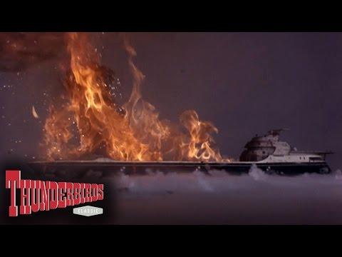 Ocean Pioneer Blows Up In The Fog - Thunderbirds
