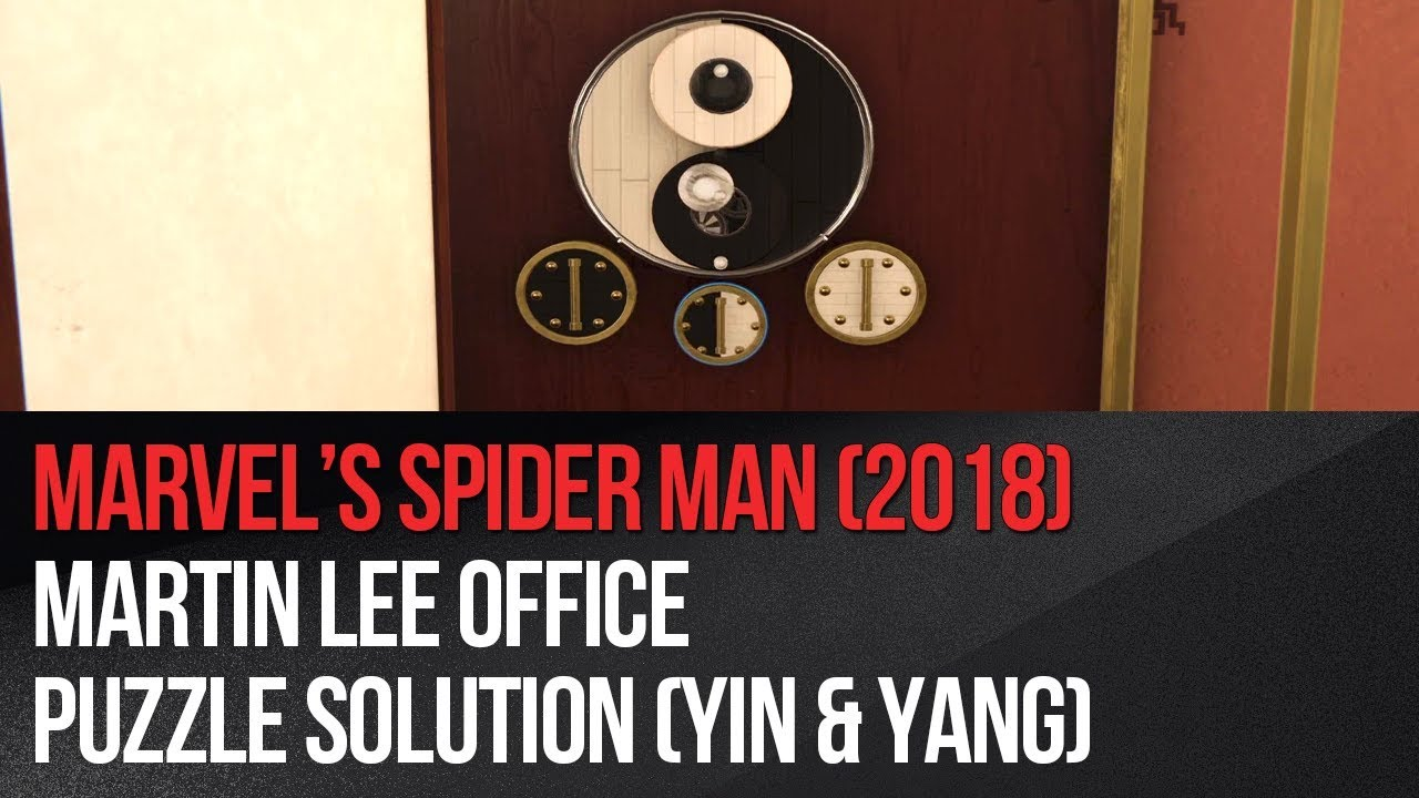 Hidden mechanism in Martin Li office in Marvel's Spider-Man