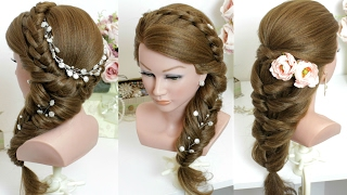 2 easy hairstyles for long hair tutorial