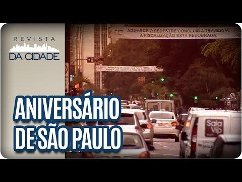 Aniversário de São Paulo: Homenagem à cidade - Revista da Cidade (25/01/17)