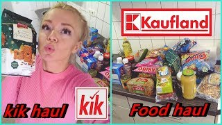 FOOD HAUL KAUFLAND &  KIK HAUL Nats lifestyle