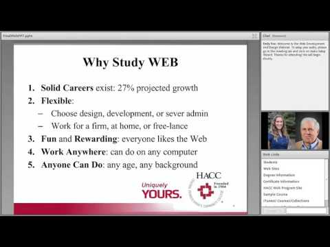 HACC Web Development and Design Webinar