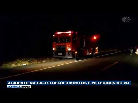 PR: Acidente Mata Nove E Deixa 30 Feridos