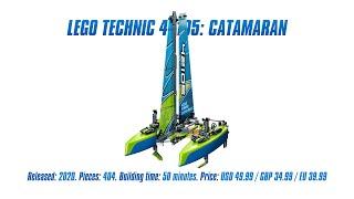 LEGO Technic 42107: Catamaran: In-depth Review, Speed Build & Parts List [4K]