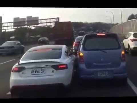 Crazy Audi Road Rage
