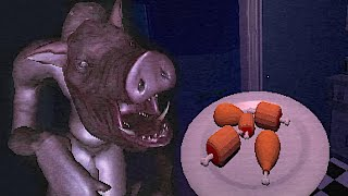 Wake Up To Snack On Nuggies But You Become The Snack & A Horror Game Where You Must Not Click