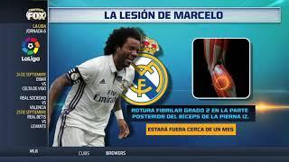 La lesión de Marcelo