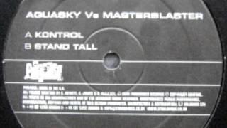 Aquasky vs masterblaster -kontrol