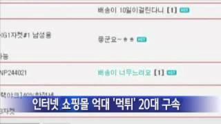 인터넷 쇼핑몰 억대 '먹튀' 20대 구속…