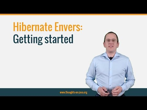 Hibernate Envers - Getting started