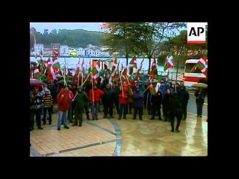 FRANCE: BASQUE NATIONALISTS ARRIVE